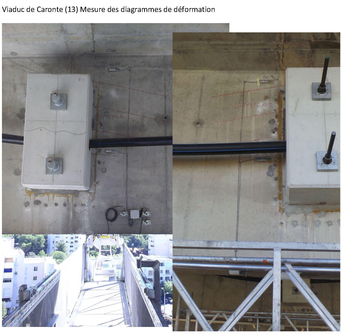 Viaduc de Caronte - Déformations