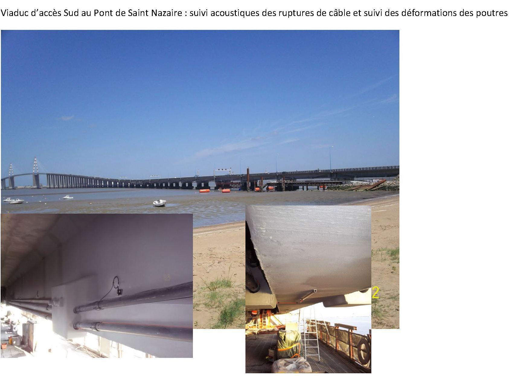 Pont de Saint Nazaire - Déformations - acoustique